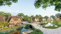 Cho thuê căn Biệt Thự Làng Hà Lan Ecopark