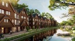 Cho thuê căn nhà phố Làng Hà Lan Ecopark